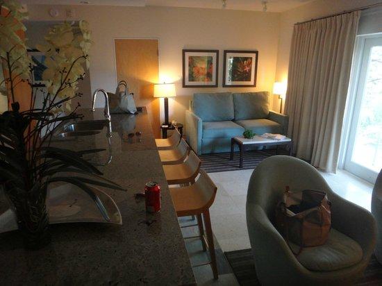 Santa Maria Suites: Wohnzimmer