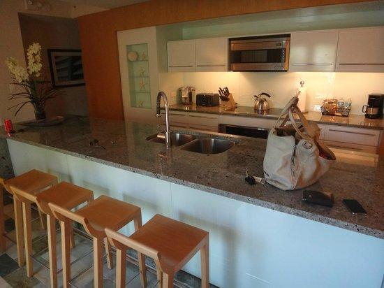 Santa Maria Suites: Bar / Küche im Zimmer