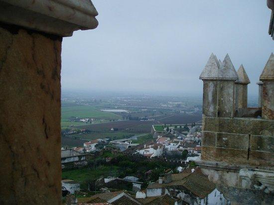 بوزادا كاستيلو دي إستريموز - هيستوريك هوتل: View from the astle tower
