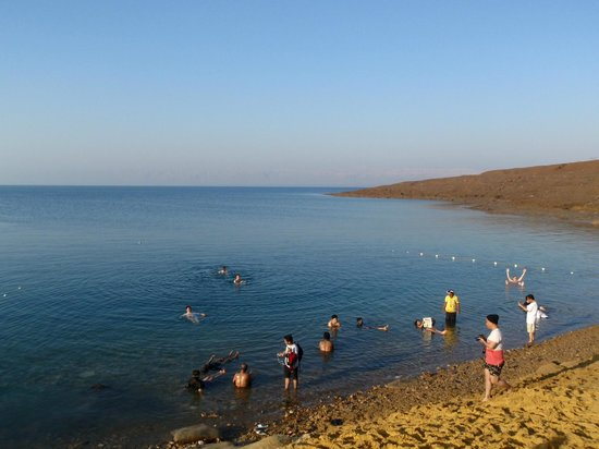 Holiday Inn Resort Dead Sea: Private Beach with Deadsea Mud