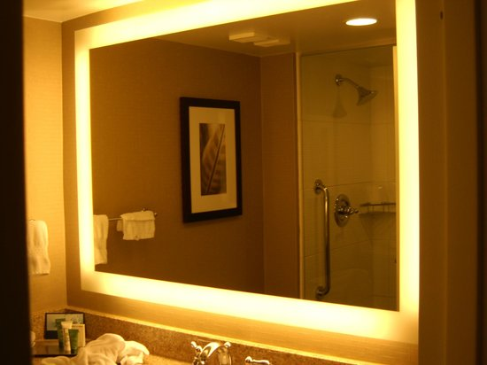 Hilton Singer Island Oceanfront/Palm Beaches Resort :                   bathroom