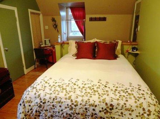 Chateau Murdock B & B : ベッド