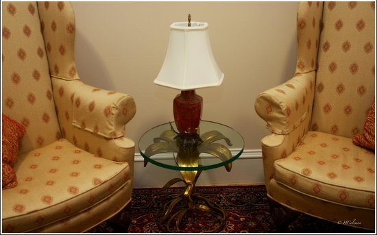 Embassy Circle Guest House: Lamp in room