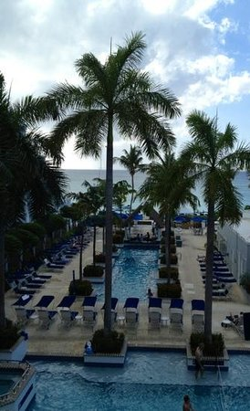 Grand Cayman Beach Suites:                   view outside room