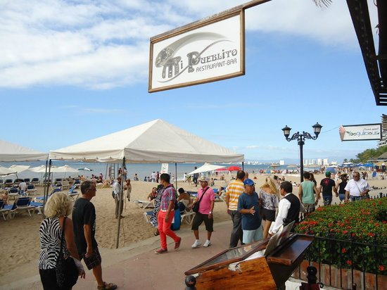 Playa Los Arcos Hotel Beach Resort & Spa: From the restaurant