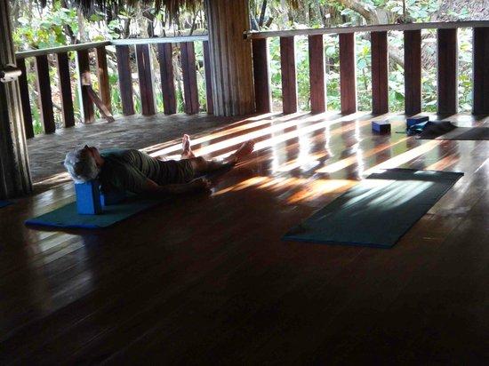 CabareteYoga:                   natura cabana yoga temple
