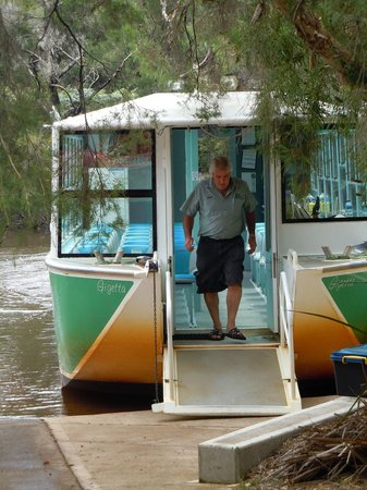 Donnelly River Cruises:                   Peter the owner and operator of the boat