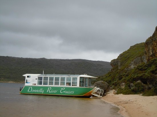 Donnelly River Cruises:                   stopped for a walk and explore at the river mouth, and Souther Ocean