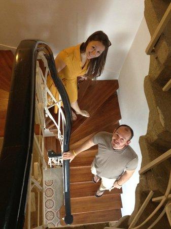 Hotel Sari Konak:                   stairway