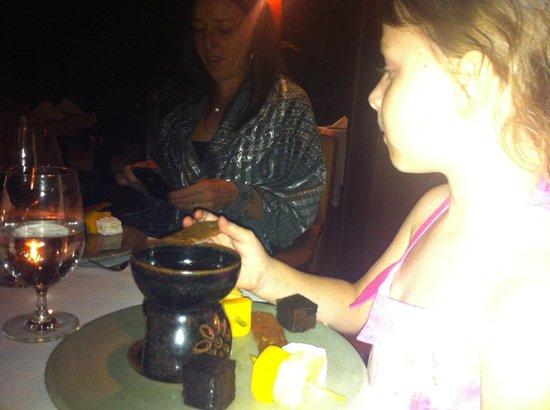 Circle:                   Chocolate Fondue