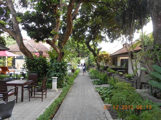 Yulia Beach Inn: asri