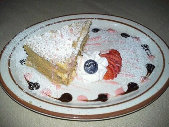 Cafe Mayakovsky:                   honey cake