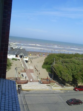 La Lucila del Mar, Argentina: VISTA DESDE LA HABITACION