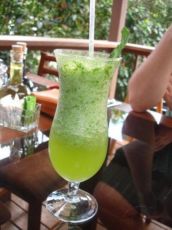 Orchid Coffee Shop:                   Spearmint lemonade