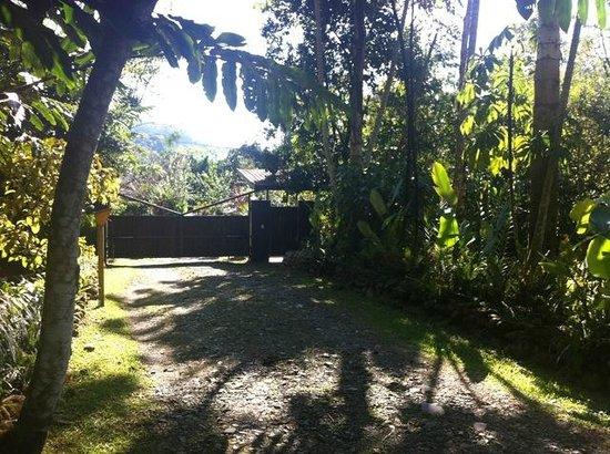 Monte Azul: Front gate (from inside the property)