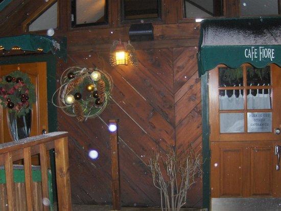 Cafe Fiore entrance
