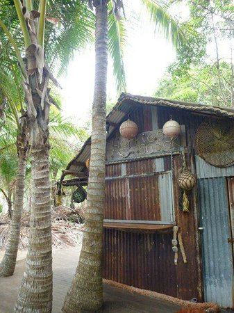 Thala Beach Nature Reserve:                   Herbies beach shack bar on the resorts beach.