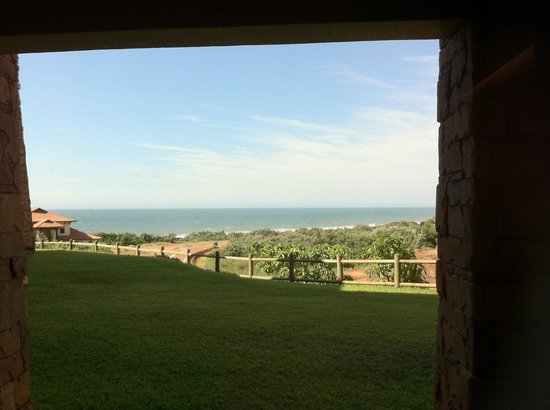 Fairmont Zimbali Resort :                   From the terrace