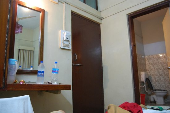 Ajantha Hotel:                   non-AC room