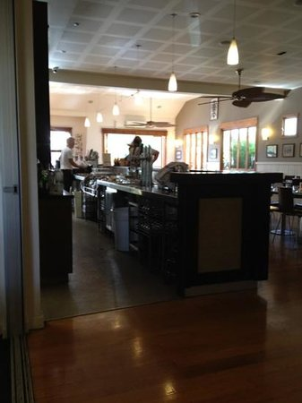 bar and dining room
