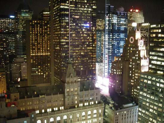 Hilton Times Square: Midtown view from room - lvl 40