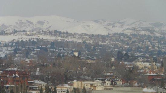 Salt Lake Plaza Hotel: vista desde la ventana de la hab