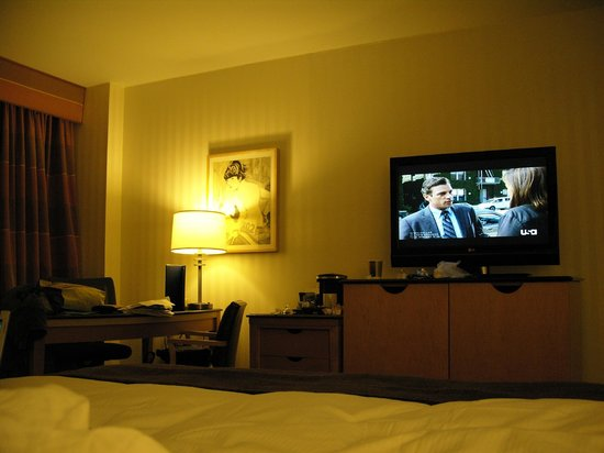 Hilton Times Square: Deluxe Room - very comfortable