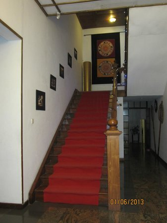 The Planter's Hotel : The stairway to the rooms