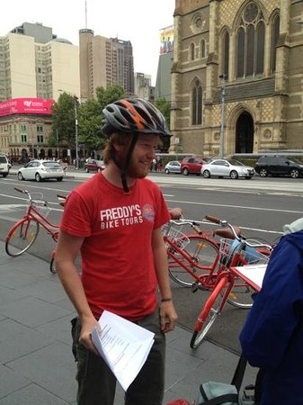 Freddy's Bike Tours:                   Our man Freddy!  Thanks for a great tour!