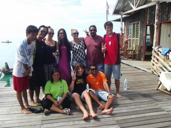 Seahorse Sipadan Scuba Lodge:                   Amazing staff of Seahorse