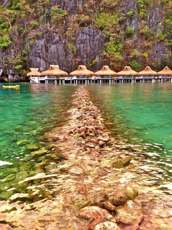 El Nido Resorts Miniloc Island:                                     Miniloc Water Cottage