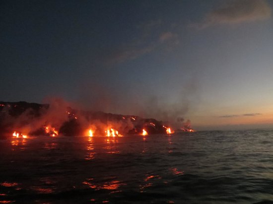 Lava Ocean Tours Inc: As it's starting to get light