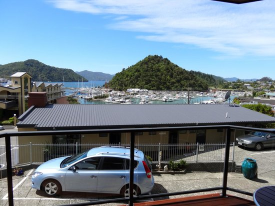 Harbour View Motel Picton:                   View from standard studio on mid-level.
