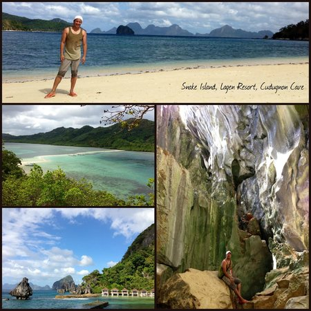 El Nido Resorts Miniloc Island:                                     Collage