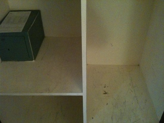 Silver Crest:                   Dresser dirty and unpainted over years