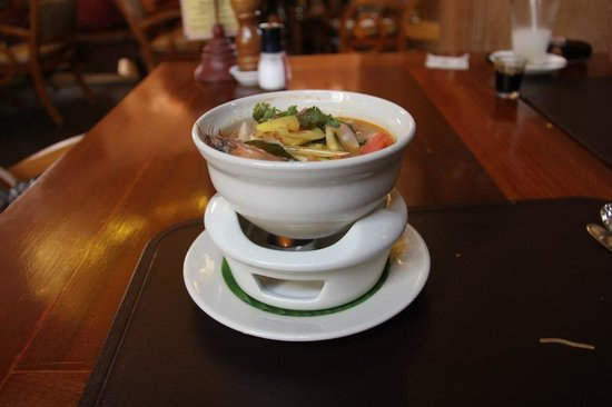 The Baray Villa:                   The famous Tom Yam Goon.