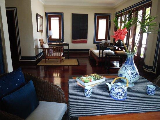 Mekong Estate: Bambou Suite 3 living room