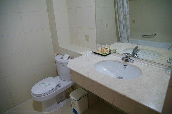 Lan Lan Hotel 1 : une partie de la salle de bain