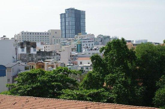 Lan Lan Hotel 1 : vue de la chambre au cinquième