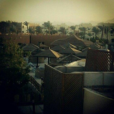 SUNRISE Select Royal Makadi Resort:                   view from the balcony