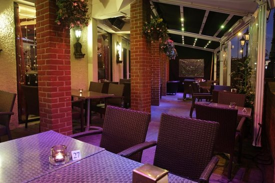 outside area picture of halal restaurant london tripadvisor. Black Bedroom Furniture Sets. Home Design Ideas