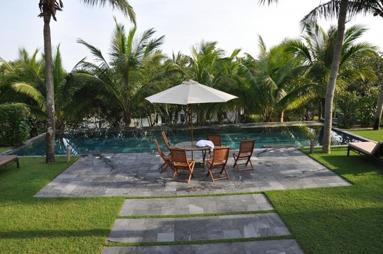 Four Seasons Resort The Nam Hai, Hoi An: jardin villa