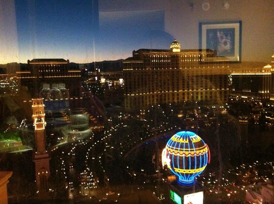 Planet Hollywood Resort & Casino:                   View from the Room