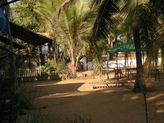 O Camarao Hotel:                   View room from cabana. also way to beach..