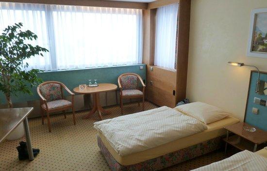 City Hotel Garni: Doppelzimmer