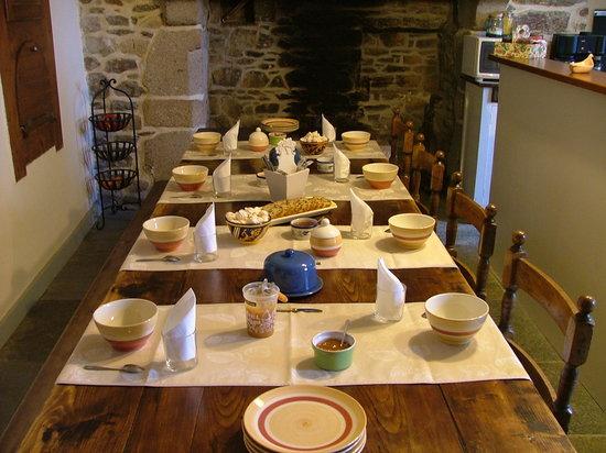 Le Presbytère : salle des petits déjeuners