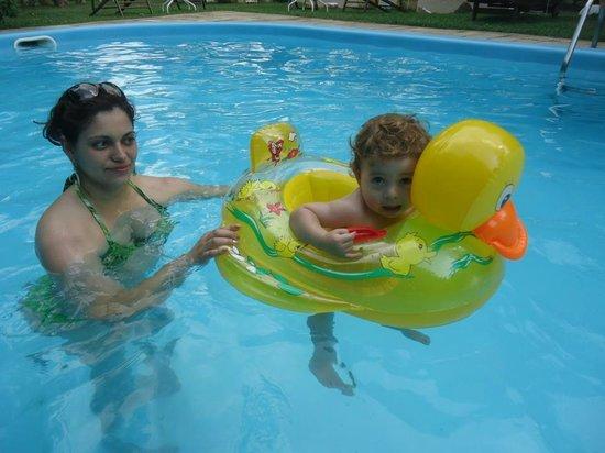 Pousada Rumo dos Ventos:                   Meu filho ficou encantado, nem queria sair da piscina.