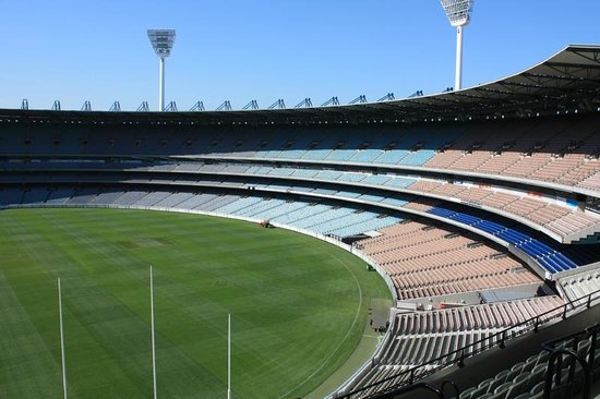 Melbourne Sports Tours:                   Half of the MCG - it's really big!
