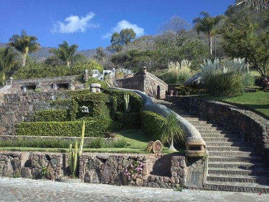Monte Coxala Spa: Hotelgelände