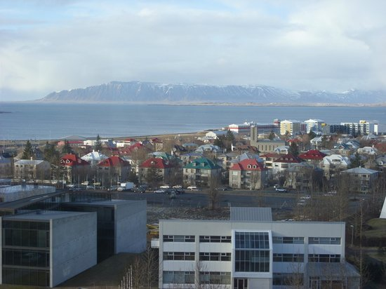 Hilton Reykjavik Nordica:                   View from Executive Lounge